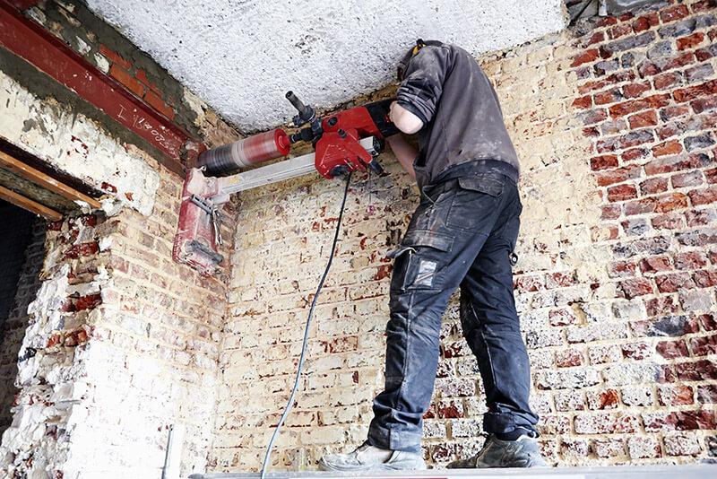 wiercenie betonu technika diamentowa