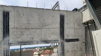 wzmacnianie ściany